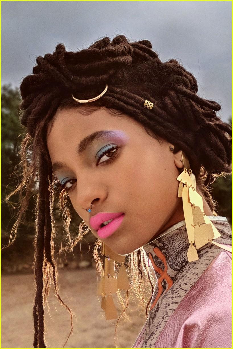 Willow Smith for  Girlgaze Zine
