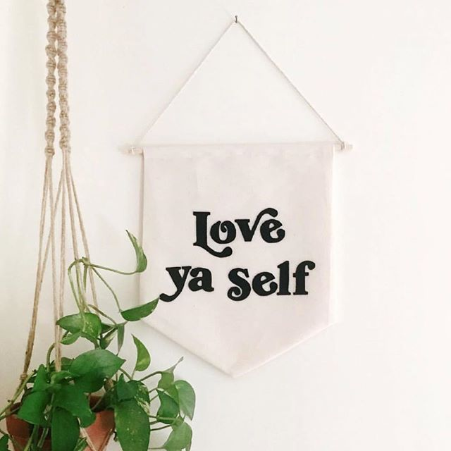 even if it's hard af sometimes! love ya self via @grl.supply ✨