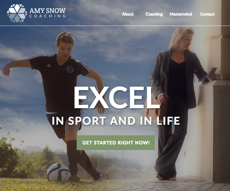 Amy Snow's homepage banner image