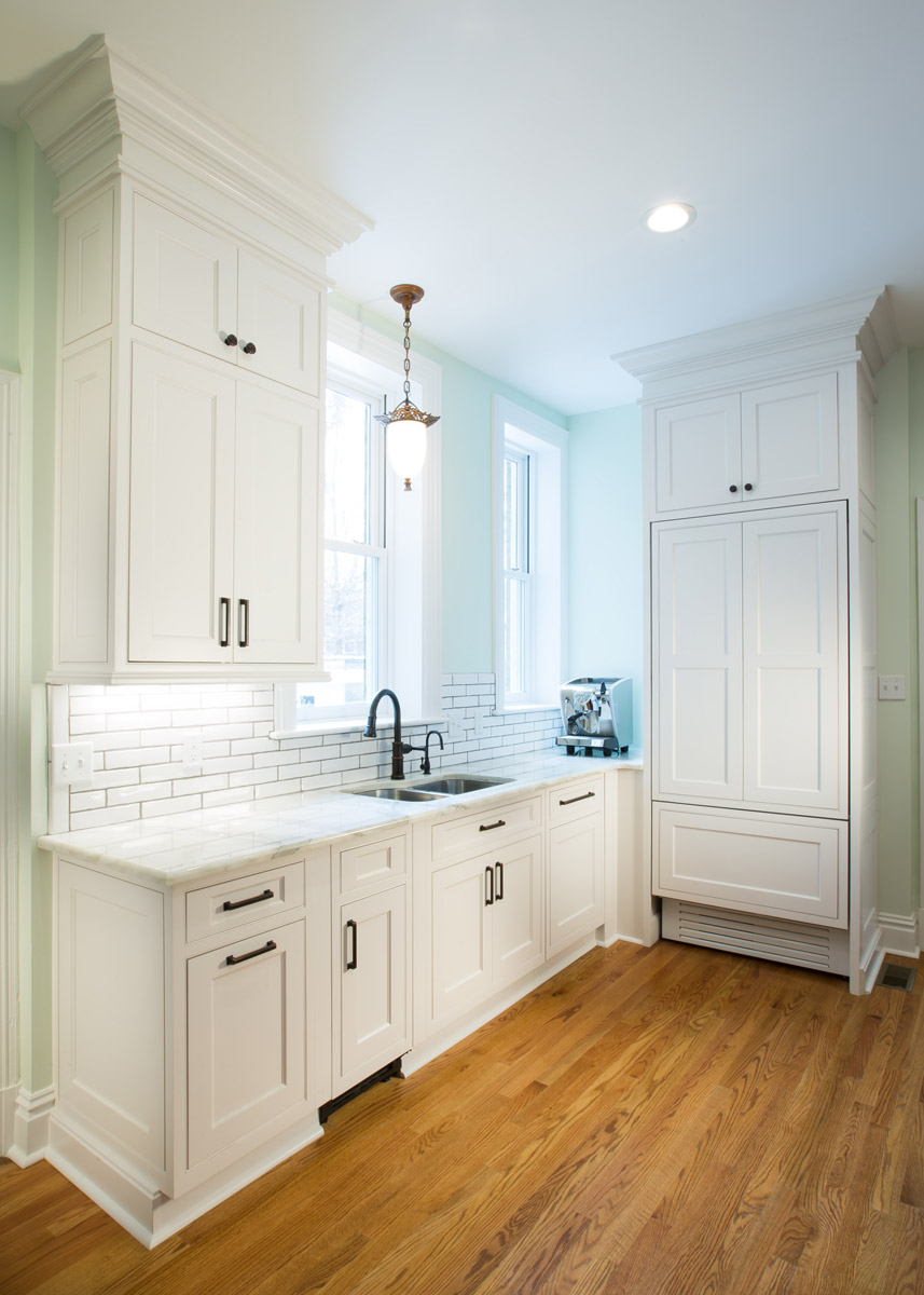 Custom Cabinetry & Countertops, Tile Work, New Plumbing & Electric, Drywall & Painting