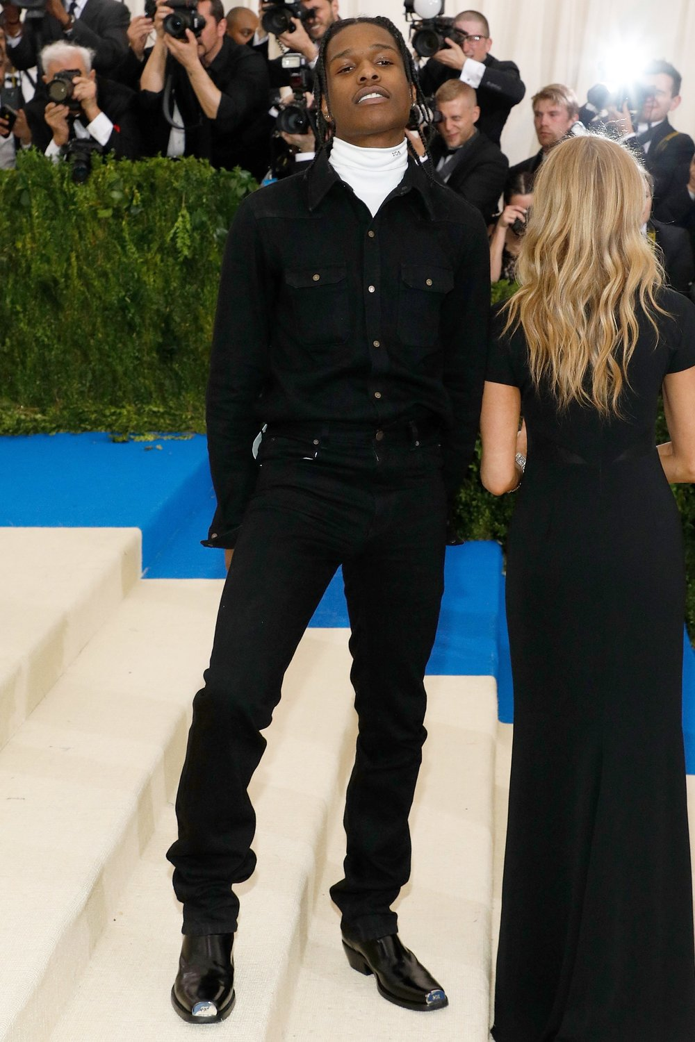 A$AP Rocky At The 2017 MET Gala