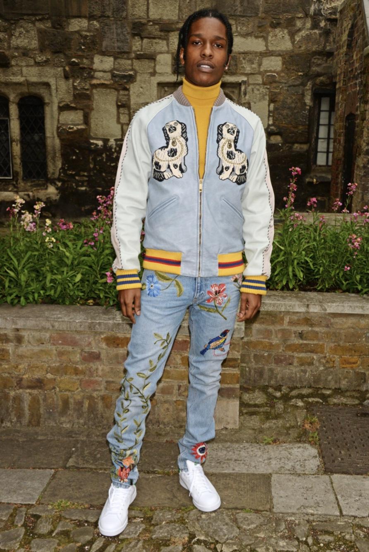 ASAP Rocky in new season Gucci