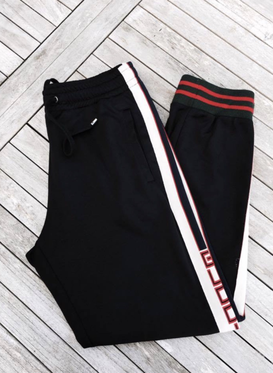 A/W Gucci Technical sweatpants inspired by my vintage piece. Photo credit to @tomjxns