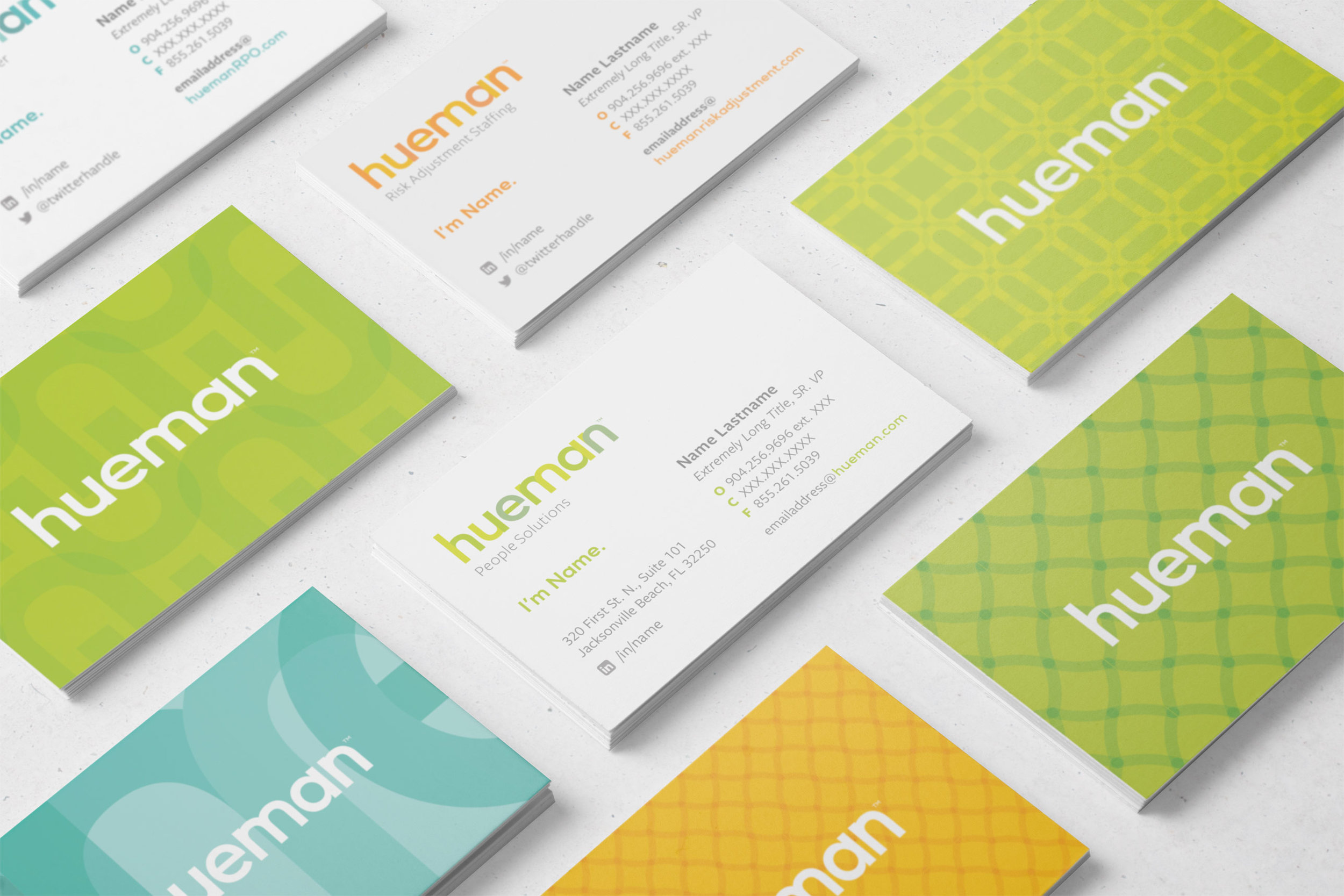 Hueman adjective co adj hue businesscards 1g reheart Images