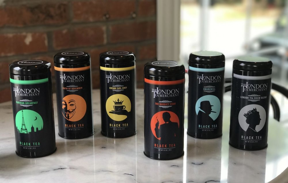 don't you love our new tins?  six of our best selling teas in glorious packaging.