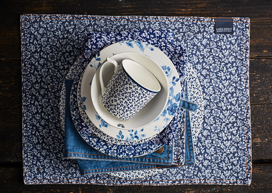 Laura Ashley Blueprint Collectables available at The london Tea Room store and online