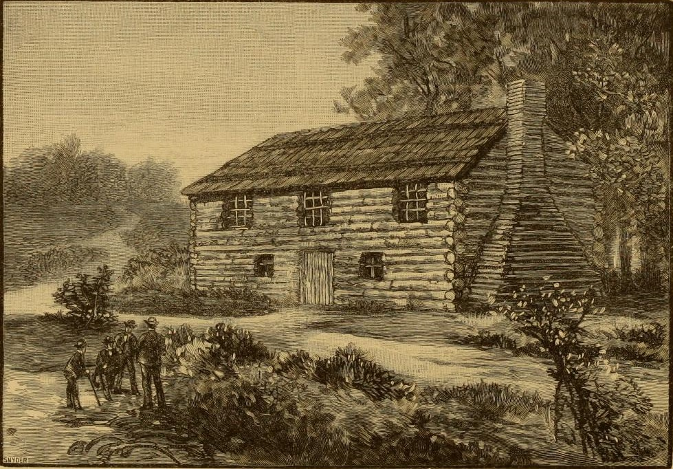 The Log College, founded c. 1726