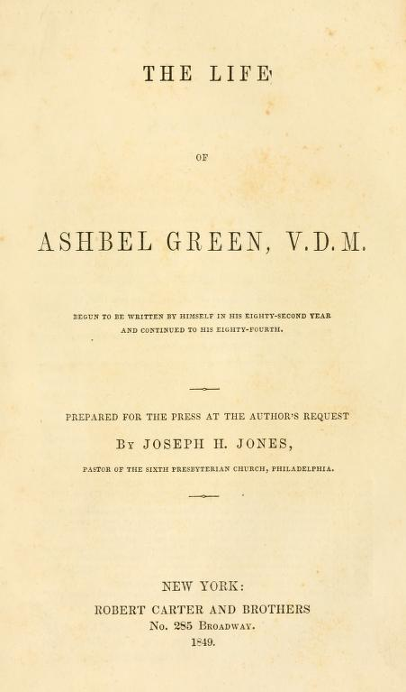 Jones, Life of Ashbel Green.jpg