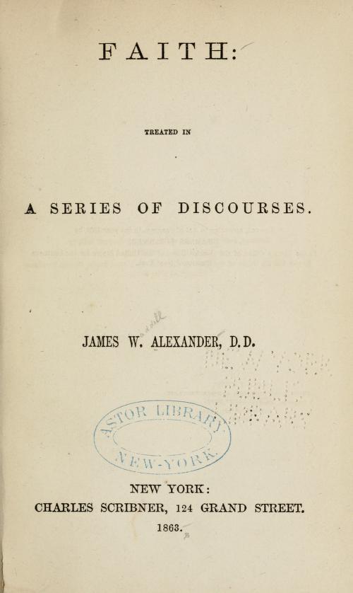 Alexander, J W - Faith.jpg