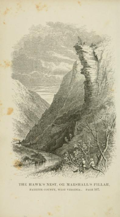 Jonathan Cross was a colporteur (one who sold books, newspapers, and tracts) for the American Tract Society. He spent time in the Allegheny Mountains, shown here.