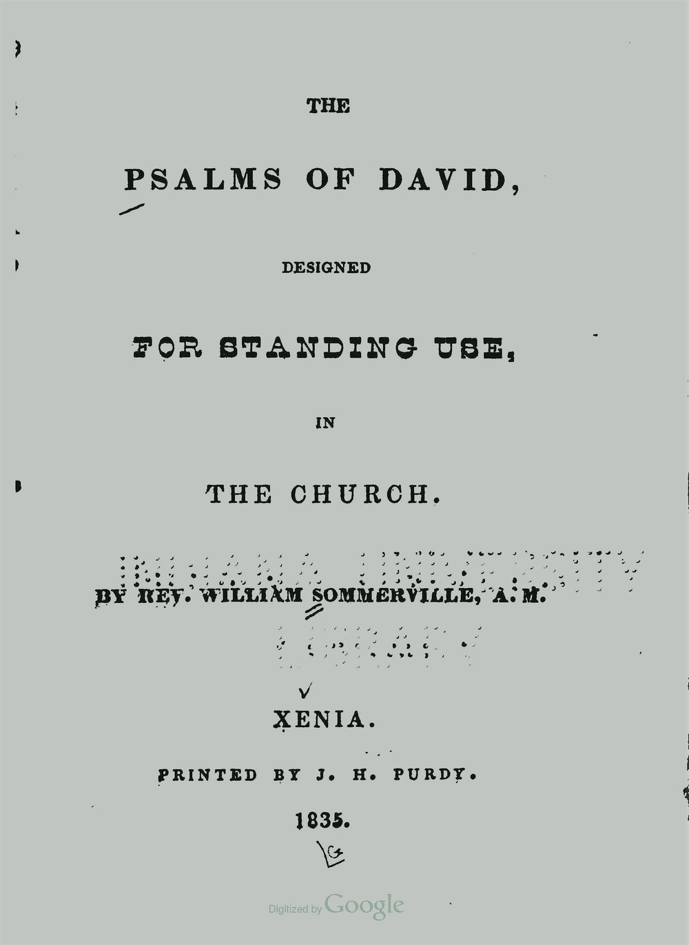 Sommerville, William, The Psalms of David for Standing Use Title Page.jpg