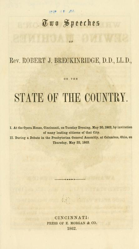 Breckinridge - Two Speeches on State of Country.jpg