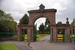 Pictured: Western Cemetery, Arbroath, Angus, Scotland, where Charles Adamson Salmond is buried.