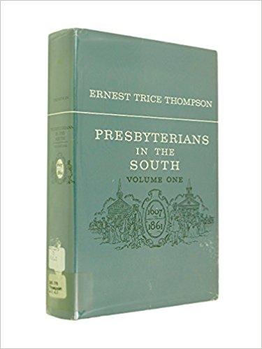 Thompson, Presbyterians in South.jpg