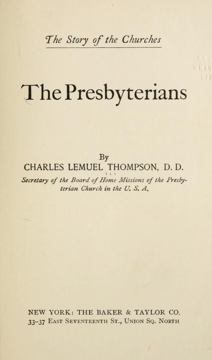 Thompson, The Presbyterians.jpg