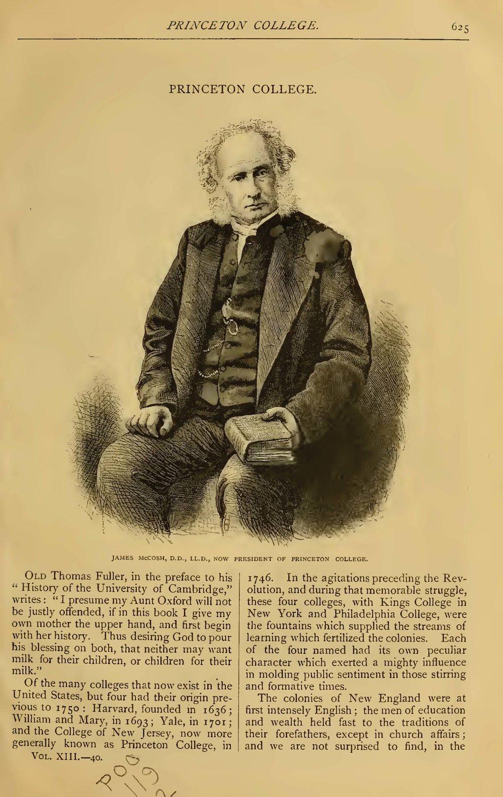 Alexander, Samuel Davies, Princeton College Title Page.jpg