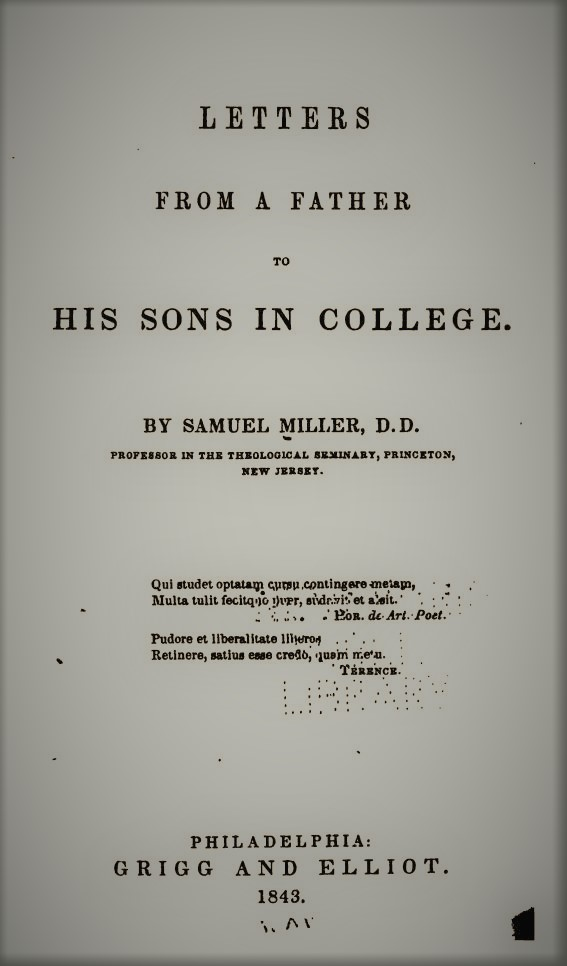 Miller, Letters from a Father to His Sons in College.jpg
