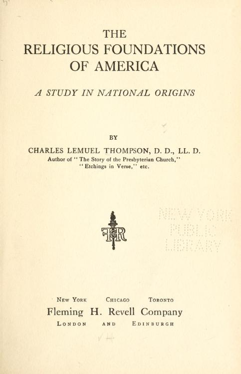 Thompson, Religious Foundations of America.jpg