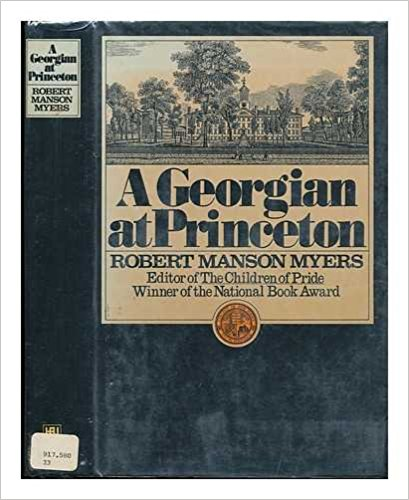 Myers, A Georgian at Princeton.jpg