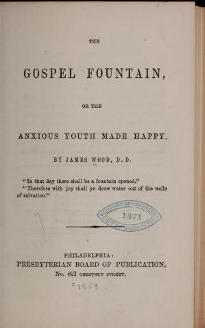 Wood, James - The Gospel Fountain.jpg