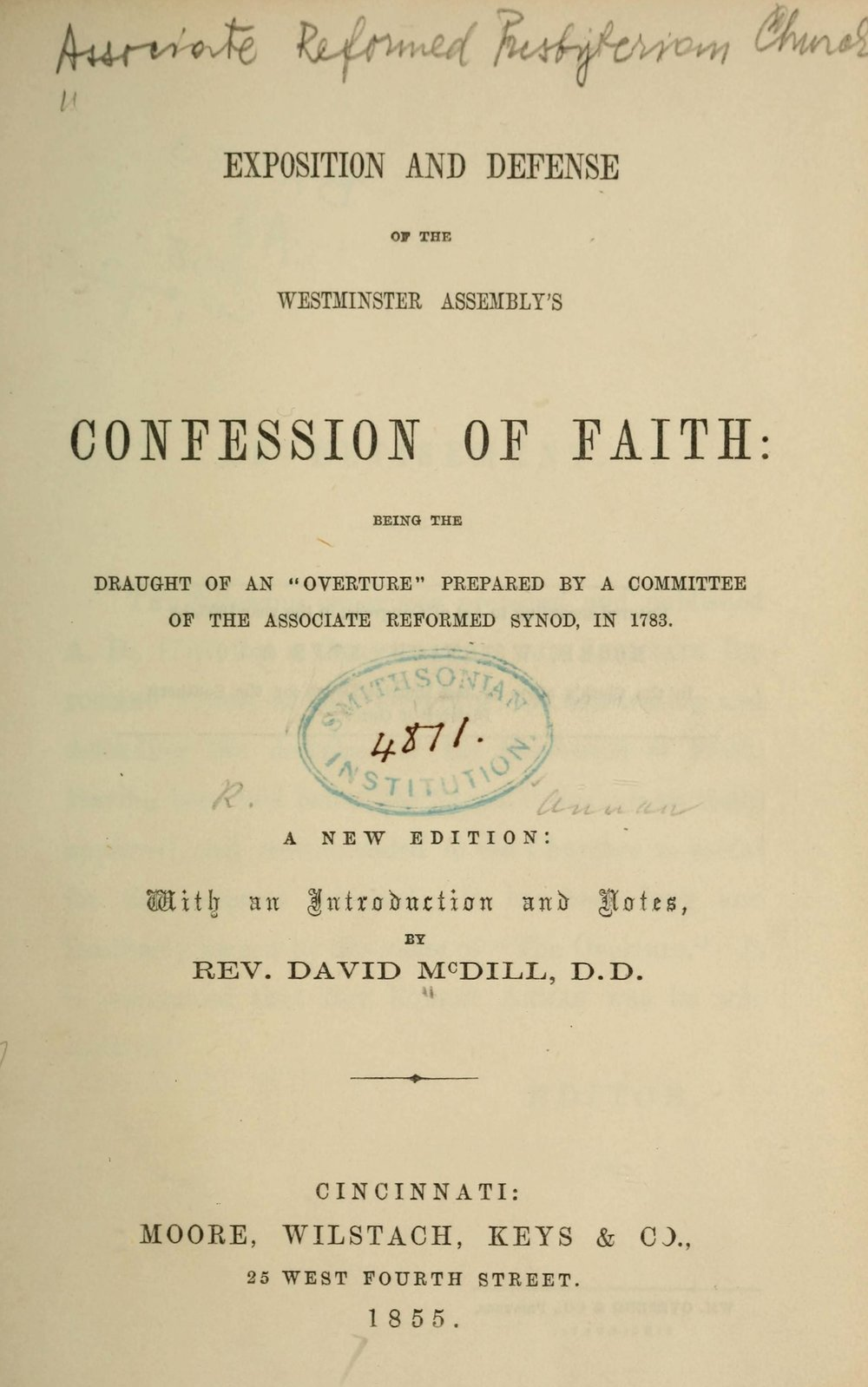 Original author: Robert Annan (1742-1819).