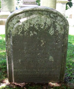 Edwin Hall, Sr. is buried at Fort Hill Cemetery, Auburn, New York.