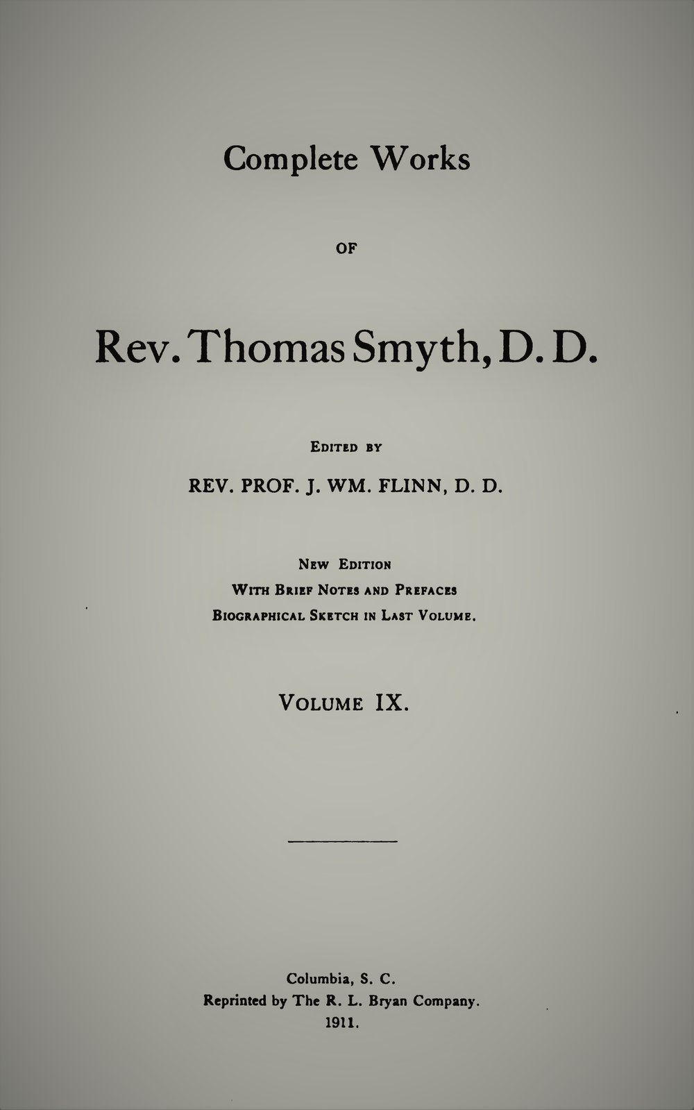 1 - Articles on the Trinity 2 - The Divinity of Christ 3 - Unitarianism not the Gospel 4 - Unitarianism Another Gospel 5 - Dr. Watts Not a Unitarian 6 - The Scriptural Doctrine of the Second Advent 7 - On the Fellowship and Communion of Believers With the Father, Son and Holy Ghost 8 - The Spirit's Influences Vindicated From Objections by their Analogy to the Wind 9 - Articles on the American Tract Society 10 - Articles Referring to the American Tract Society on Dr. Wayland's Letter 11 - The Destruction of the Hopes of Man - a Discourse 12 - Articles on Baptism 13 - Form for the Solemnization of Matrimony 14 - An Order for Funeral Services 15 - The Form of Public Admission to the Church 16 - The Lord's Supper 17 - Forms of Doxology and Benediction