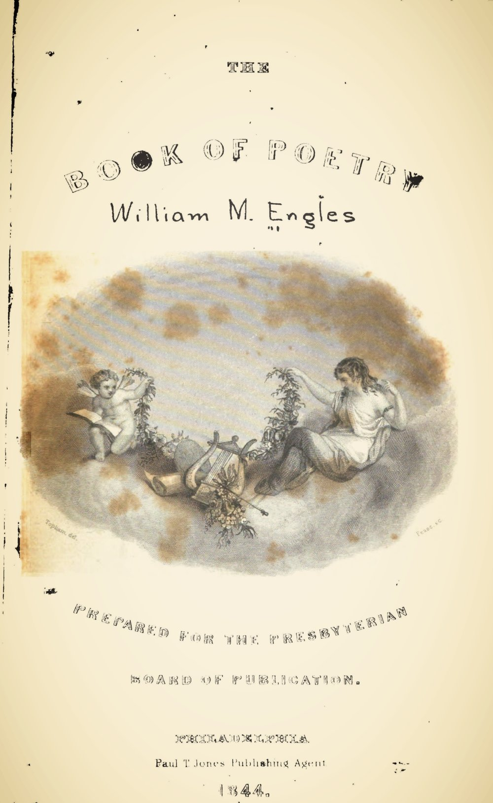 Engles, William Morrison, The Book of Poetry Title Page.jpg