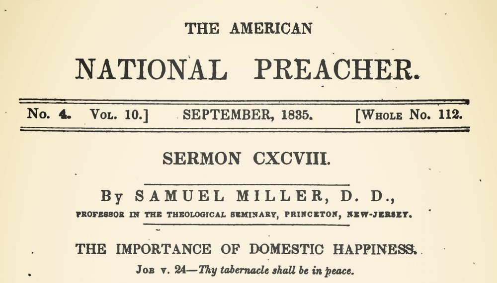 Miller, Samuel, The Importance of Domestic Happiness Title Page.jpg