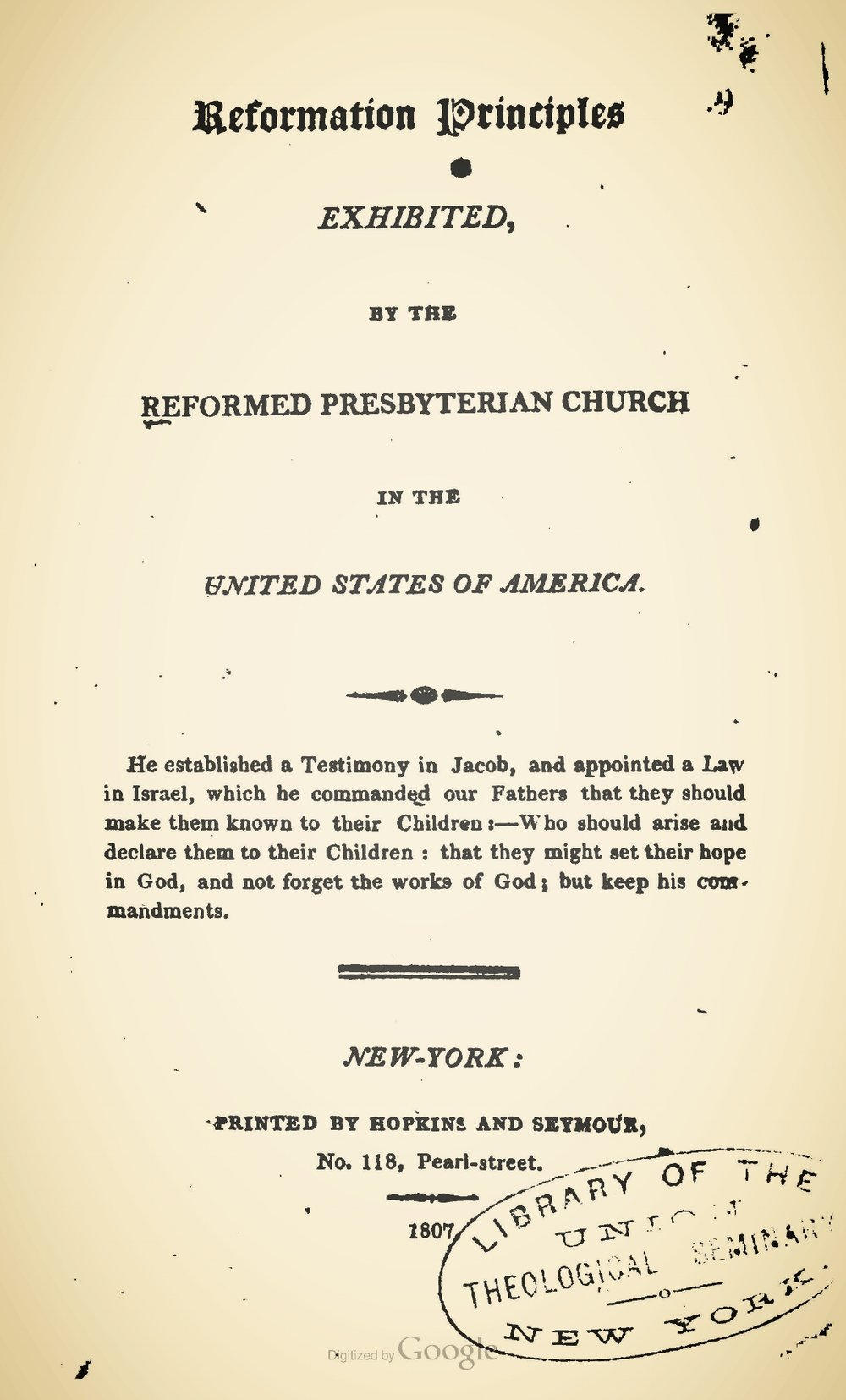 McLeod, Alexander, Reformation Principles Exhibited Title Page.jpg
