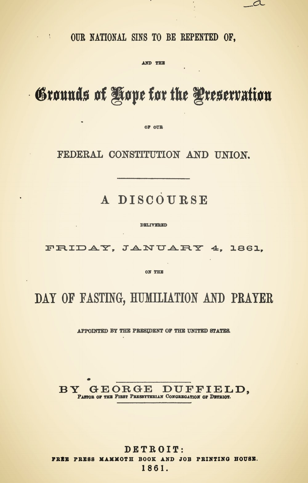 Duffield, IV, George, Our National Sins to be Repented Of Title Page.jpg