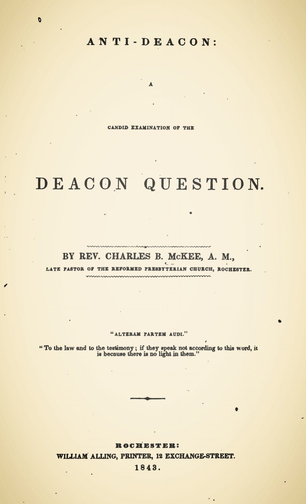 McKee, Charles Brown, Anti-Deacon Title Page.jpg