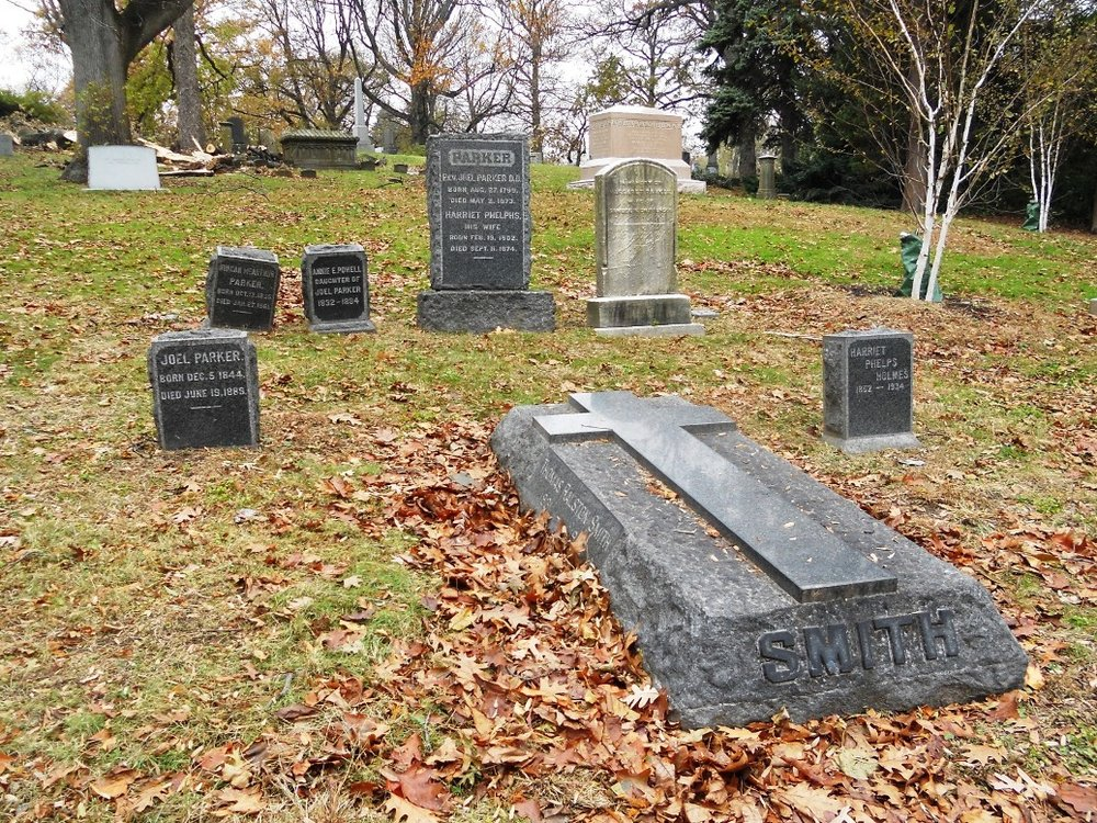 Thomas Ralston Smith is buried at Greenwood Cemetery, Brooklyn, New York.