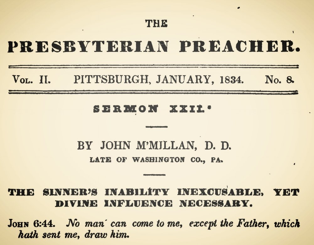 McMillan, John, The Sinner's Inability Inexcusable Title Page.jpg