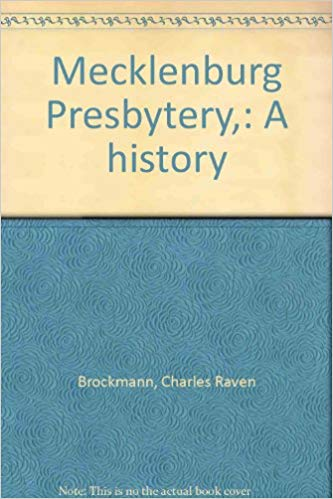 Brockman, Mecklenburg Presbytery.jpg