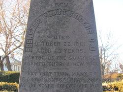 Ebenezer Platt Rogers is buried at Fairfield East Cemetery, Fairfield,Connecticut.