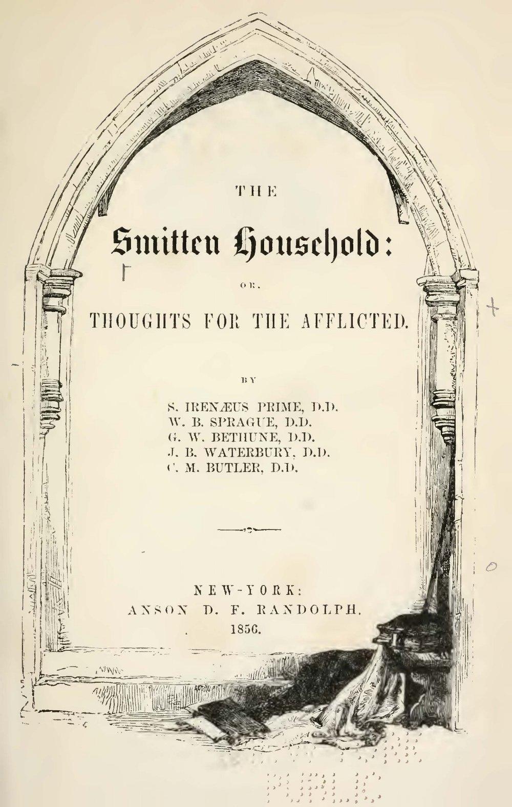 Prime, Samuel Irenaeus, The Smitten Household Title Page.jpg