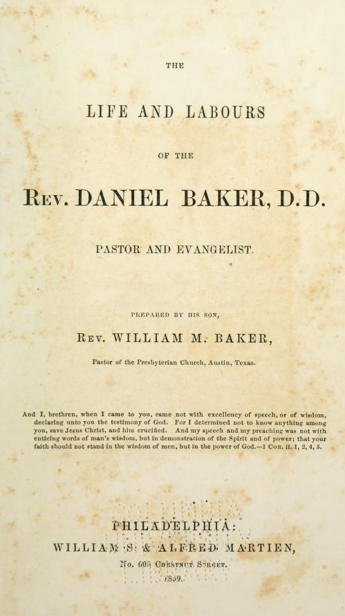 Baker, William - Life and Labors of Daniel Baker.jpg