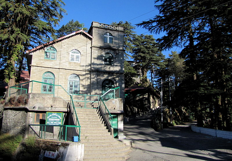 Kellogg Memorial Church in Landour, India.