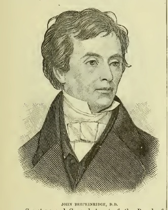 John Breckinridge is buried at Lexington Cemetery, Lexington, Kentucky.