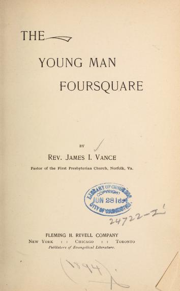 Vance, Young Man Foursquare.jpg