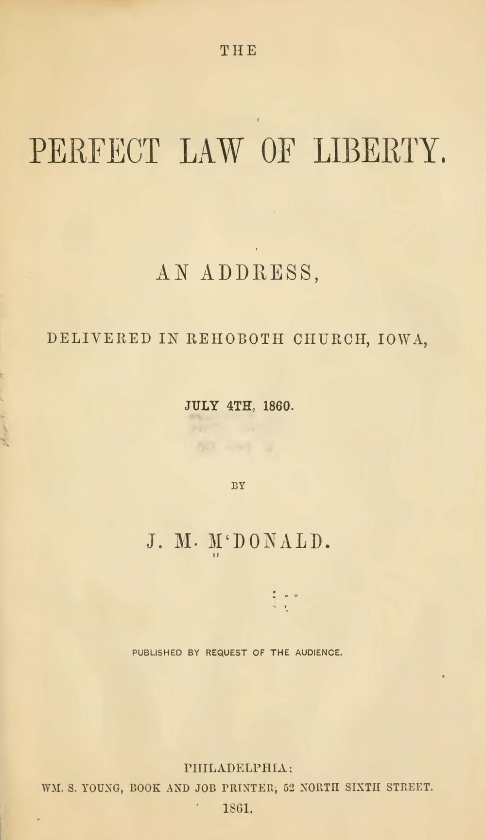 McDonald, James Madison, The Perfect Law of Liberty Title Page.jpg