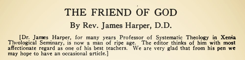 Harper, James, The Friend of God Title Page.jpg