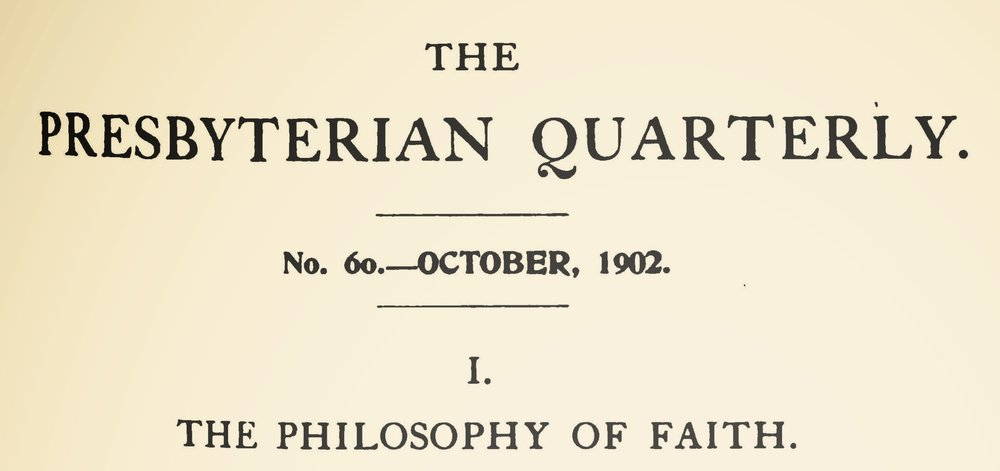 Strickler, Givens Brown, The Philosophy of Faith Title Page.jpg