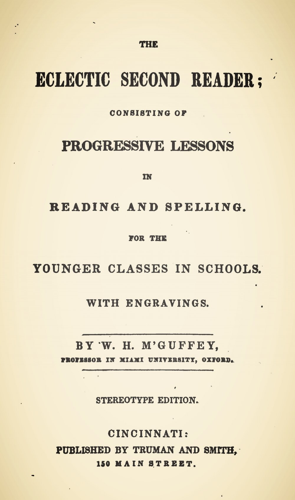 McGuffey, William, The Eclectic Second Reader Title Page.jpg