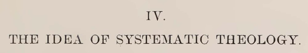 Warfield, Benjamin Breckinridge, The Idea of Systematic Theology Title Page.jpg