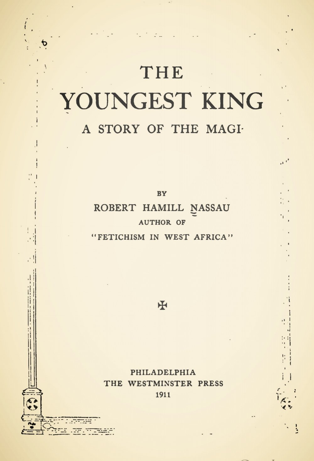 Nassau, Robert Hamill, The Youngest King Title Page.jpg