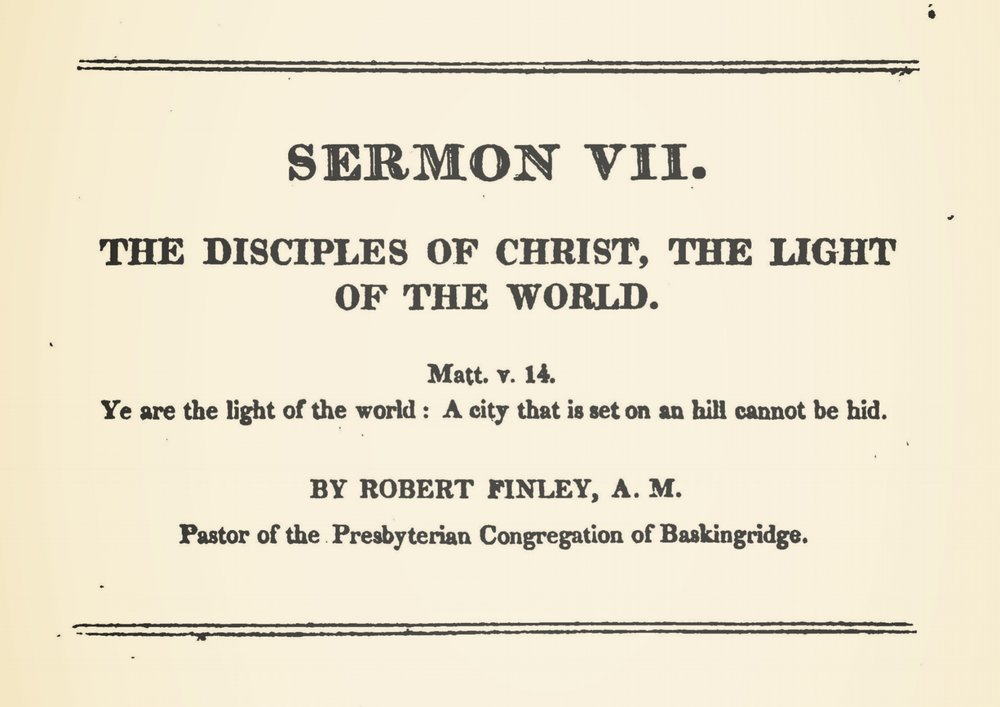 Finley, Robert, The Disciples of Christ Title Page.jpg