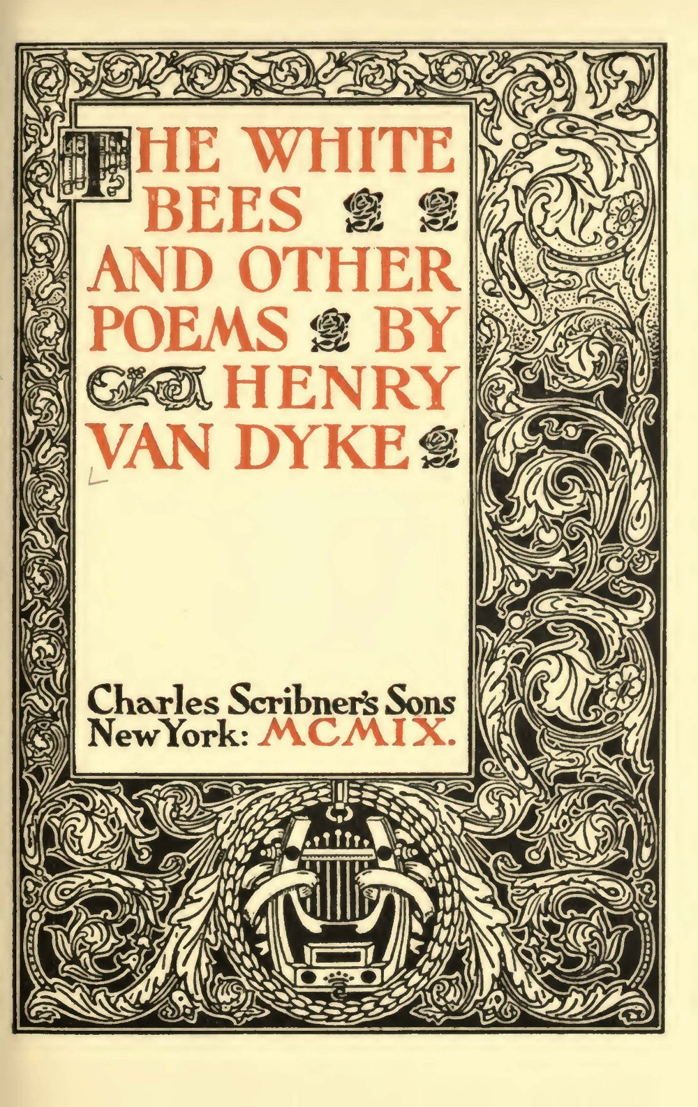 Van Dyke, Jr., Henry Jackson, The White Bees Title Page.jpg