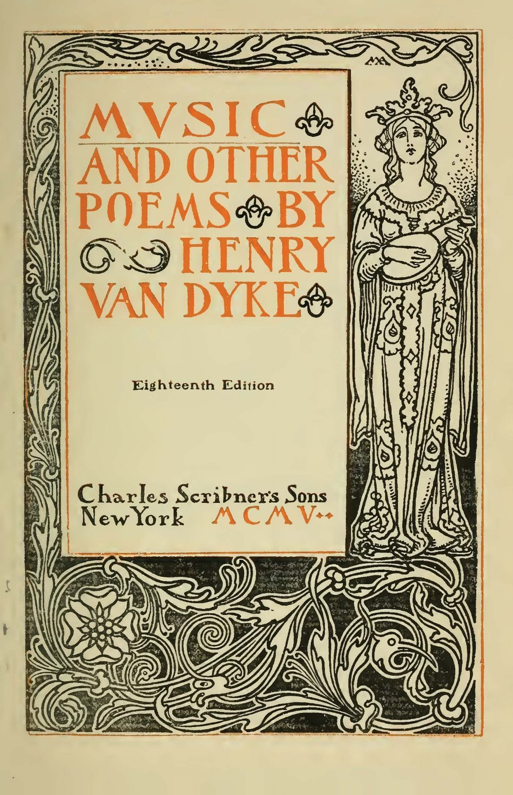 Van Dyke, Jr., Henry Jackson, Music and Other Poems Title Page.jpg